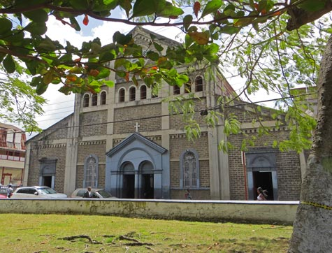 Castries Cathedral in Saint Lucia