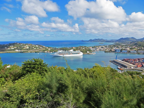 Saint Lucia Cruise Port